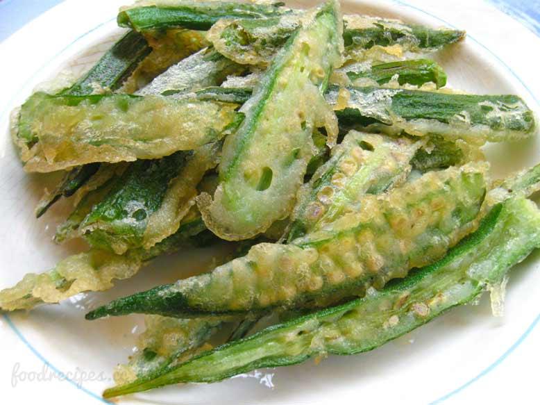 spicy fried okra